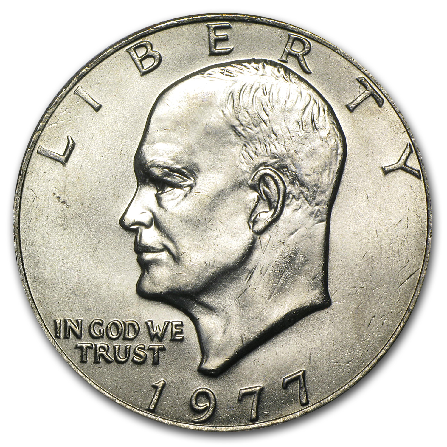 1977 Eisenhower Dollar - Brilliant Uncirculated